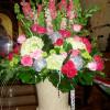 Hydrangea & Pink Roses